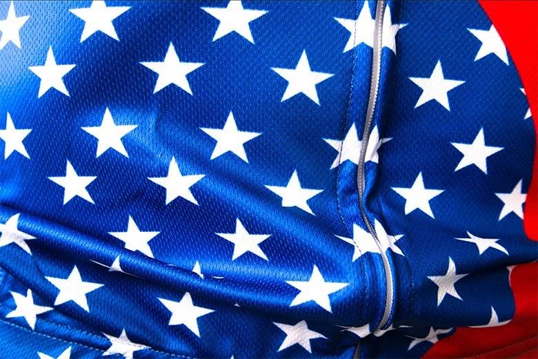sublimated cycling jerseys Fabric