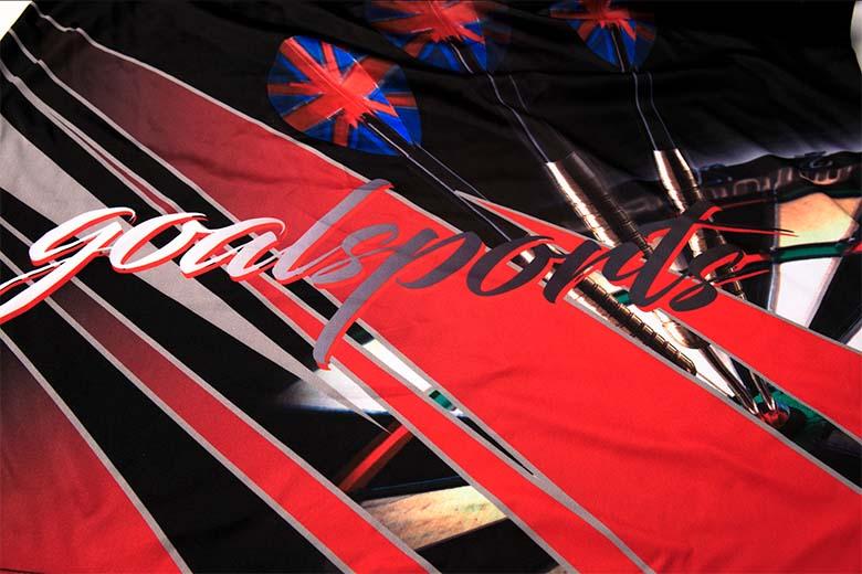 sublimated dart shirts Printing