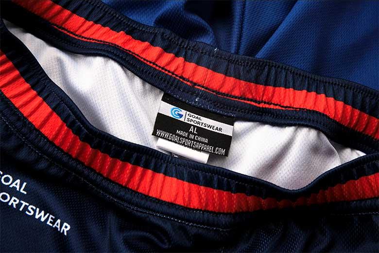 sublimated basketball jerseys Stitching