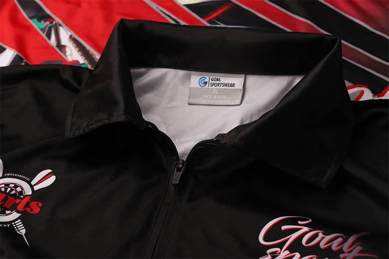 sublimated dart shirts Ykk zippers