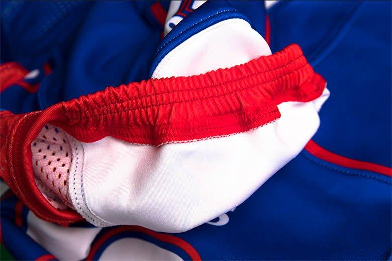 7 sublimated football jerseys Stitching