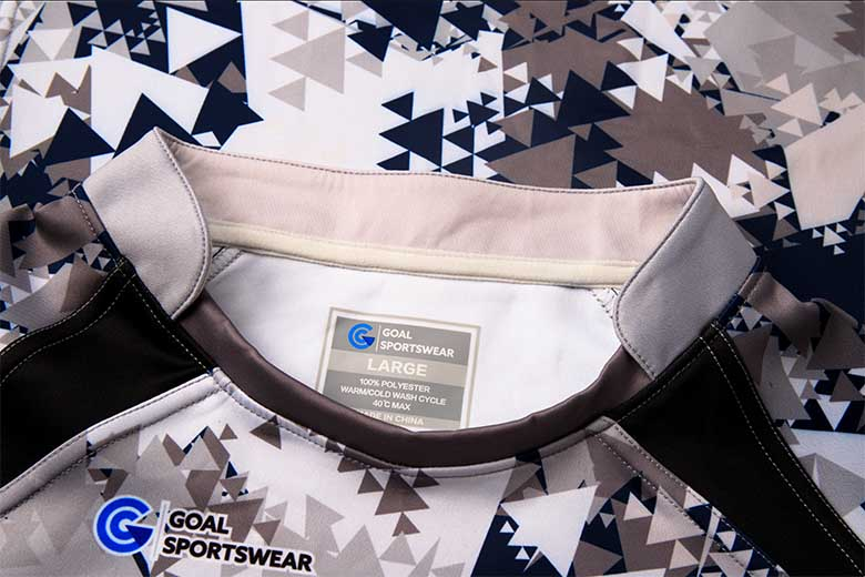 sublimated rugby jersey Collar