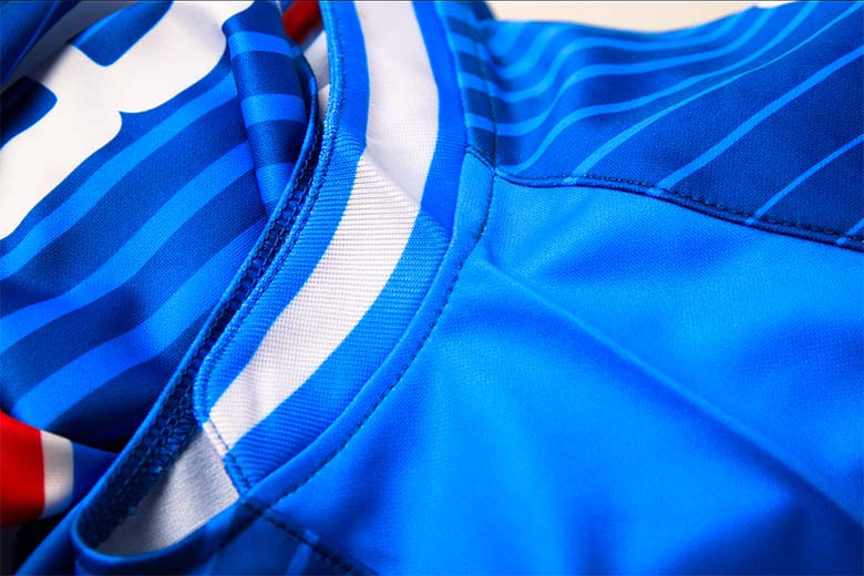 sublimated soccer jerseys Stitching