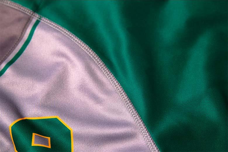 Sublimated softball jerseys Stitching