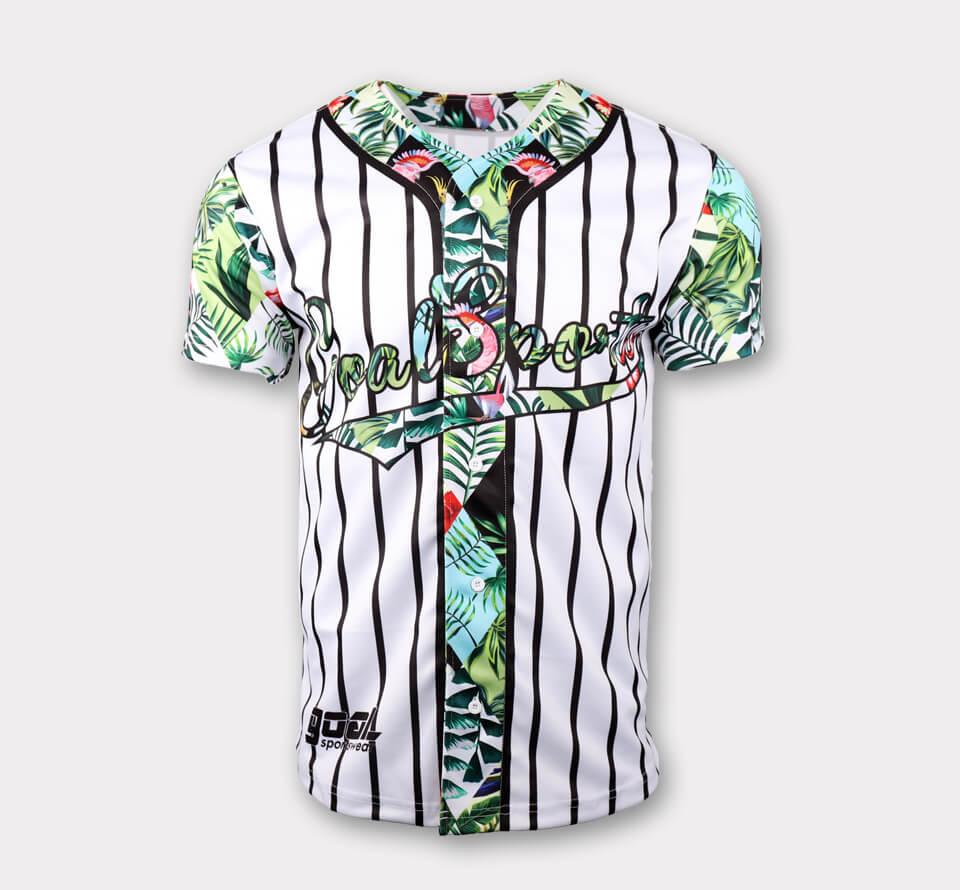 Sublimated baseball jerseys