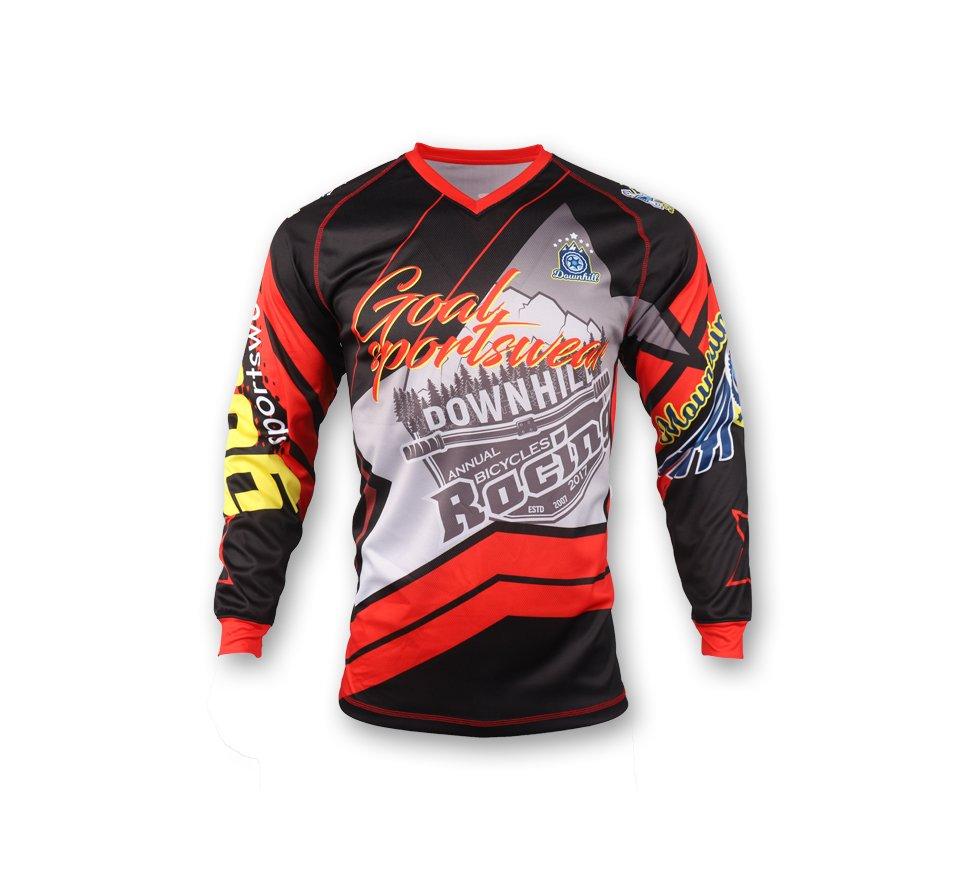 Sublimated motocross jerseys