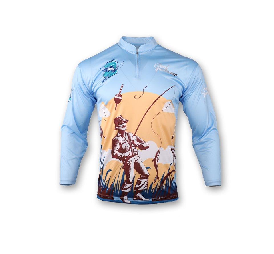 sublimated fishing jerseys