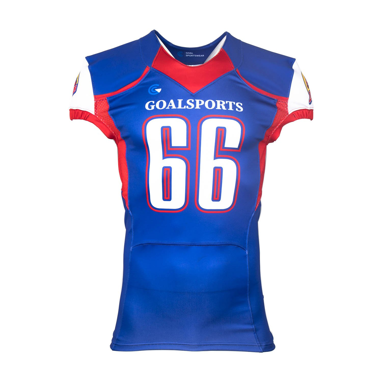 Sublimated football jerseys