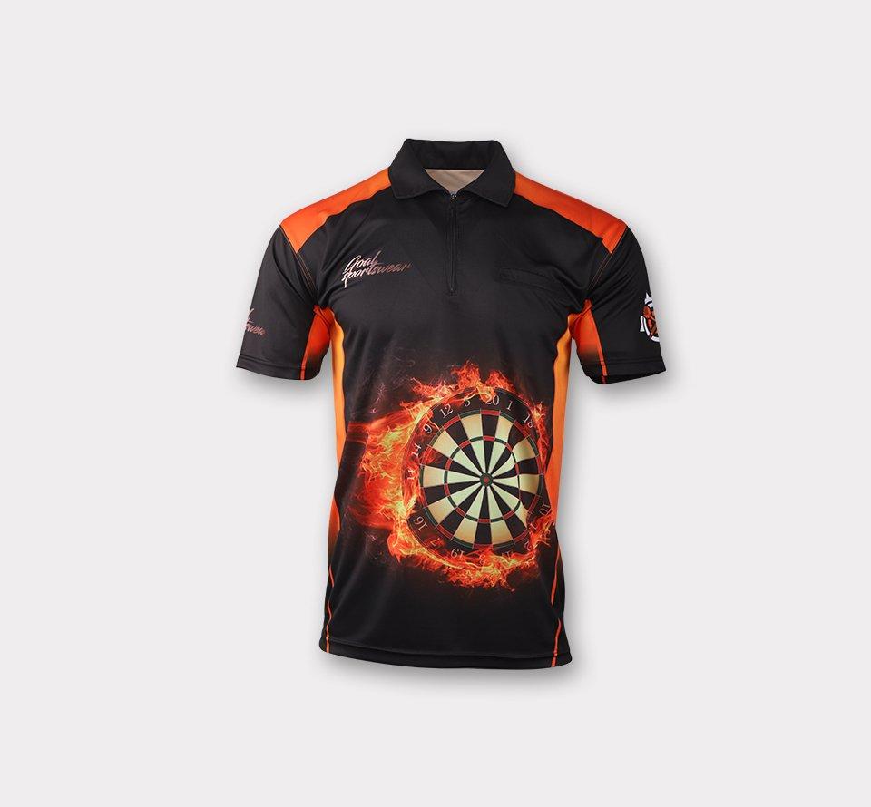Sublimated darts shirts