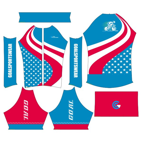 sublimated cycling jerseys design
