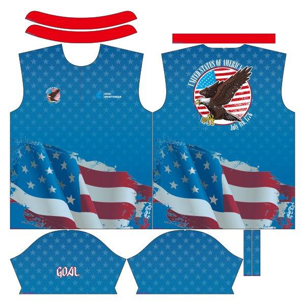sublimated dart shirts design