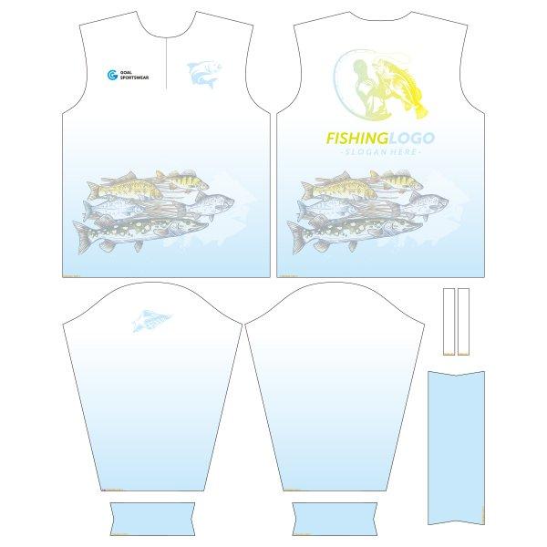sublimated fishing jerseys design