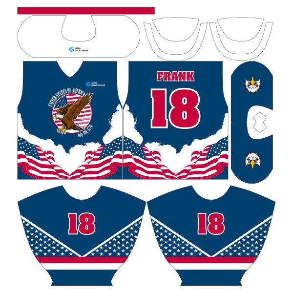 sublimated hockey jerseys design