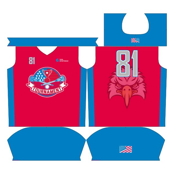 sublimated lacrosse uniforms design
