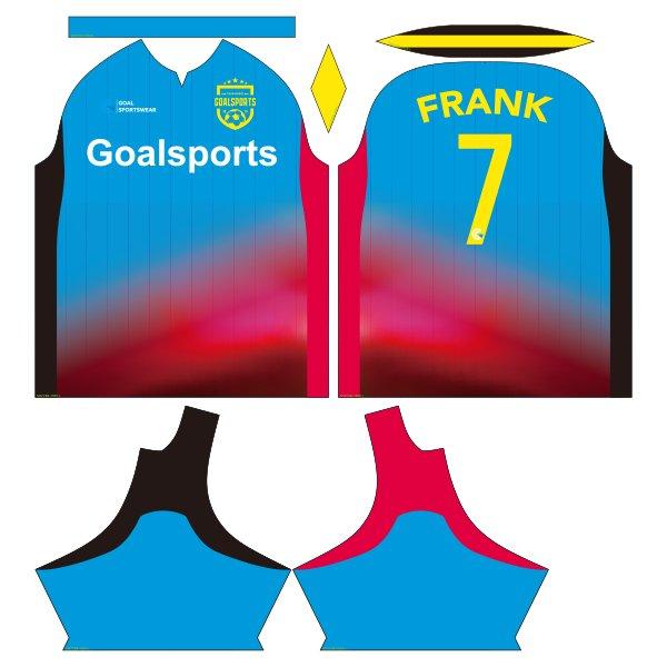 sublimated soccer jerseys design