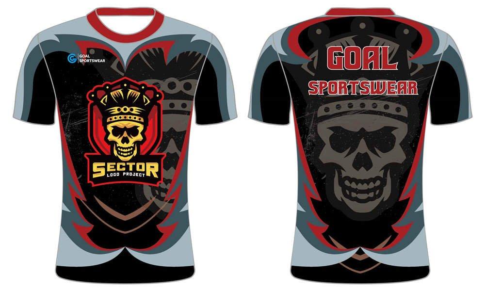 Custom dry fit team short sleeve Esports Jerseys