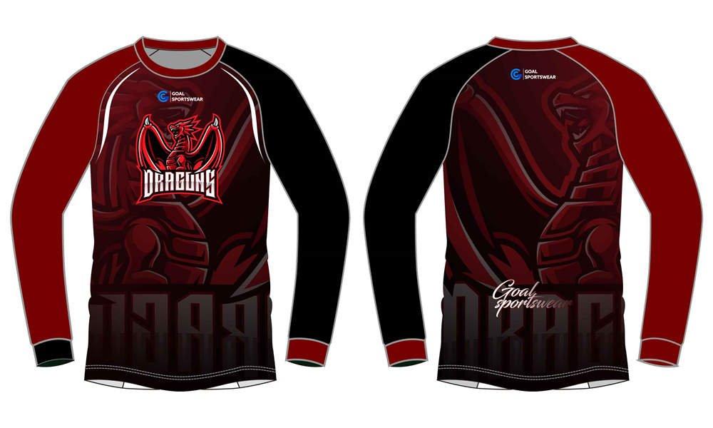 Custom professional long sleeves Esports Jerseys