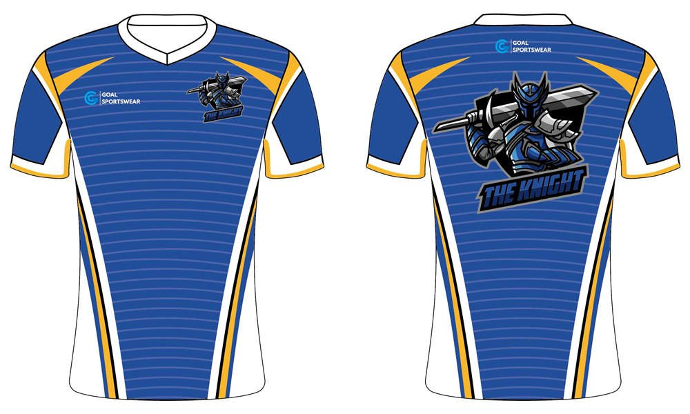 Custom sublimated short sleeve Esports Jerseys