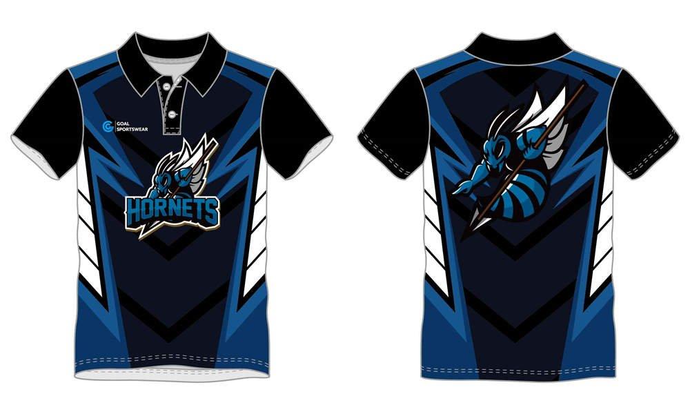 Custom sublimated short sleeve Esports polo Jerseys