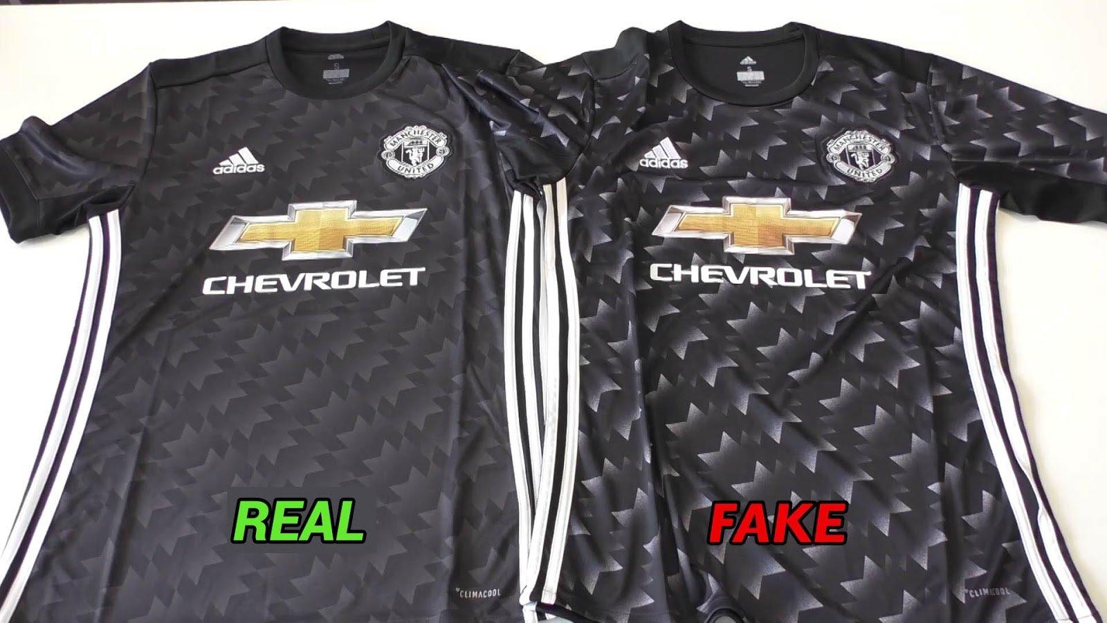 Fake and real kit