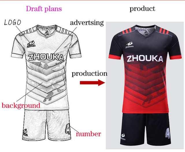 Football jersey plan