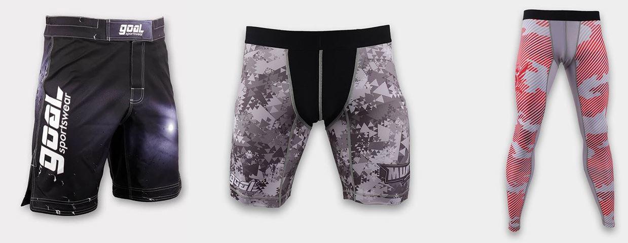 Types of MMA Shorts