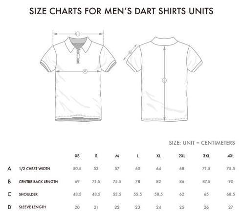 Dart shirt sizes