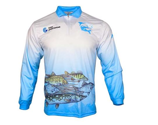 Sublimate fishing uniform