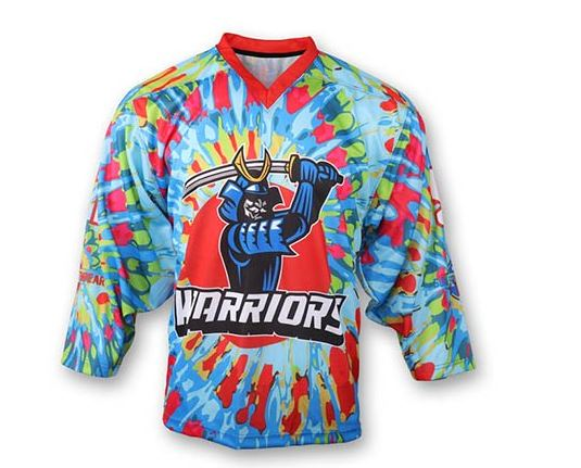 Sublimated hockey jersey