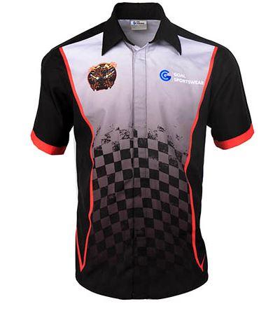 Racing polo shirts