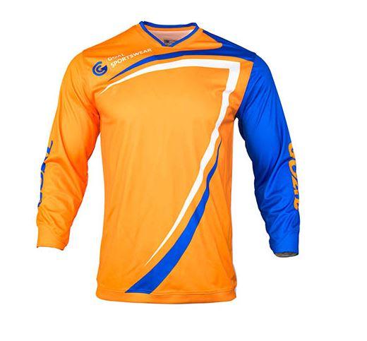 Sublimated goalie keep jersey
