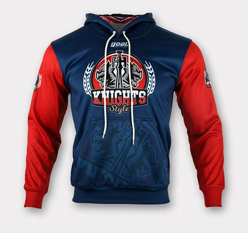 Sublimated soccer hoodie