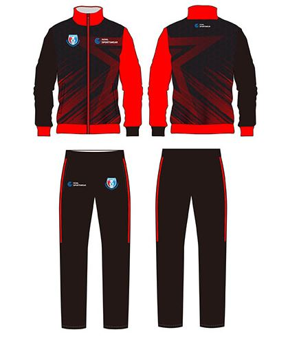 Sublimated soccer warm ups