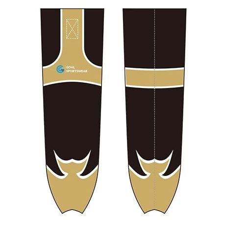 Sublimated hockey socks