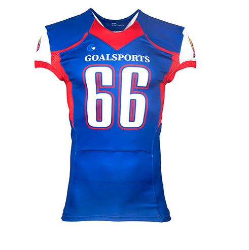 Sublimation printed football jersey