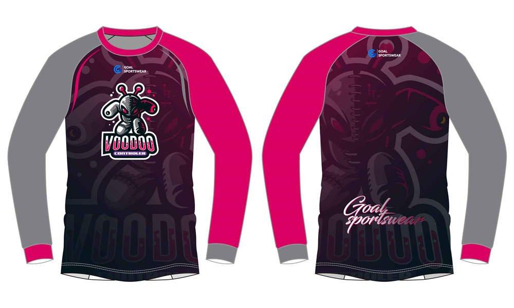 High quality custom team long Gaming Esports Jerseys