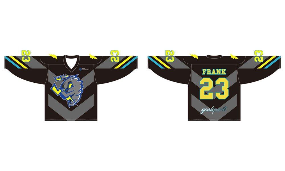 100% polyester sublimation mens custom ice hockey jerseys