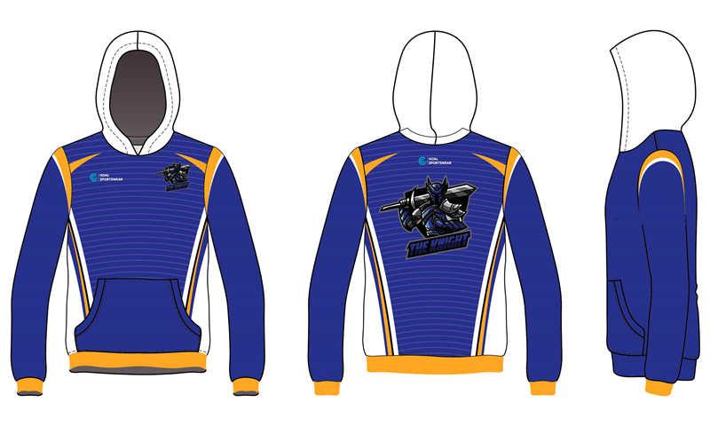 100% polyester sublimation printing custom made dart hoodie
