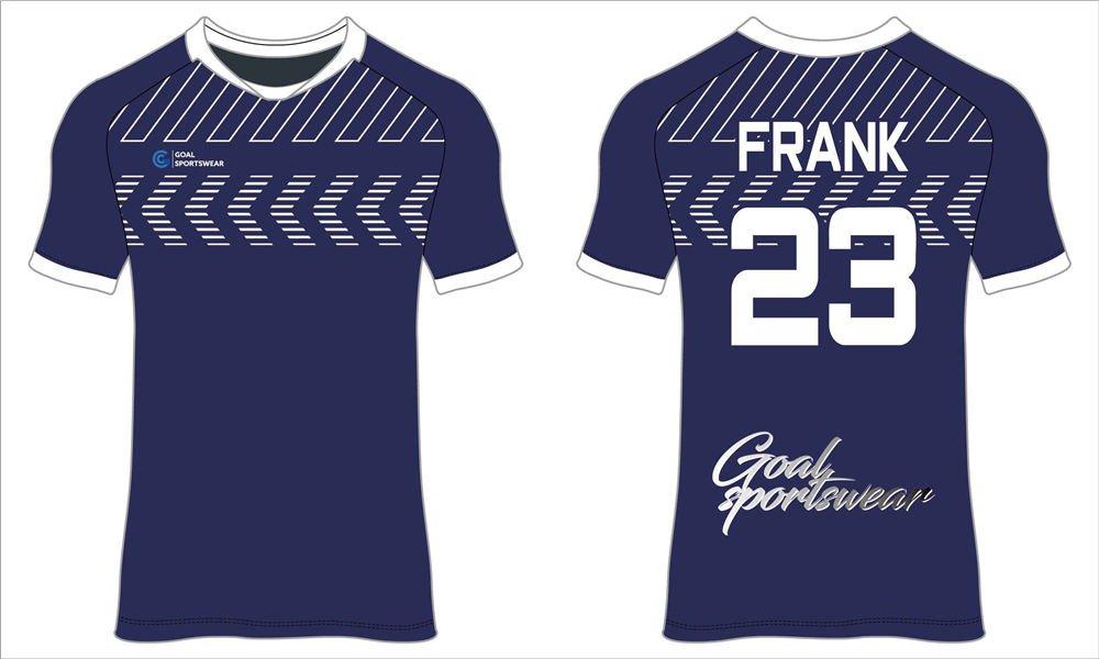 100% polyester sublimation printing custom team soccer jerseys