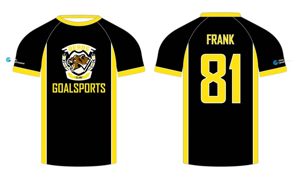 100% polyester sublimation printing custom youth team short sleeve lacrosse shooters