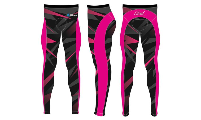 Custom design sublimated youth team cycling pants