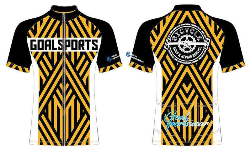Custom design sublimation printing short sleeve zipper up cycling jerseys