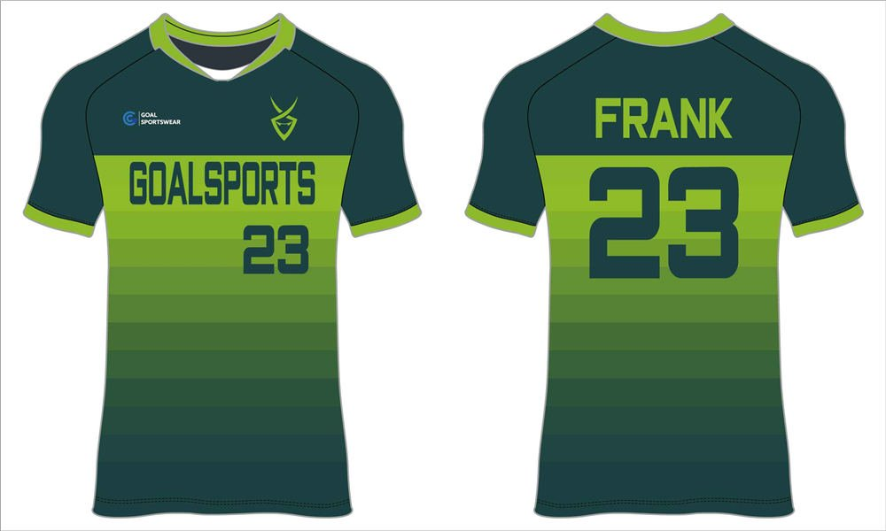 Custom made dry fit sublimated printing college soccer jerseys
