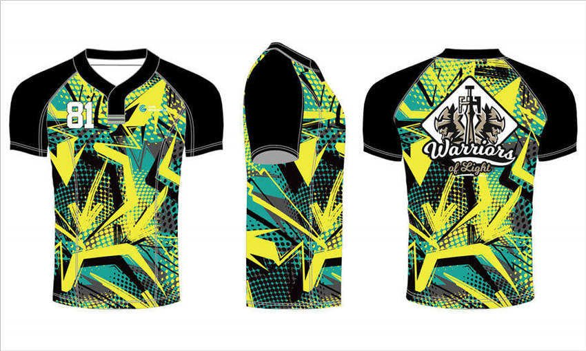 Custom made polyester sublimated printing short sleeve rugby jerseys