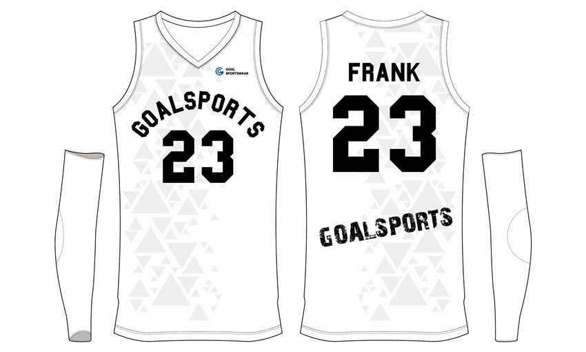 Custom made sublimation printing mens pro basketball jerseys