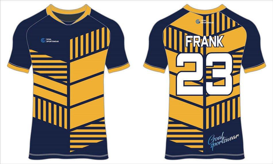 Custom made sublimation printing mens pro short sleeve soccer jerseys