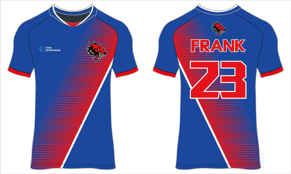 Custom wholesale sublimated printed mens team soccer jerseys