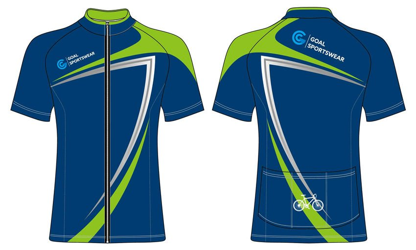 Custom wholesale sublimated printed short sleeve cycling jerseys