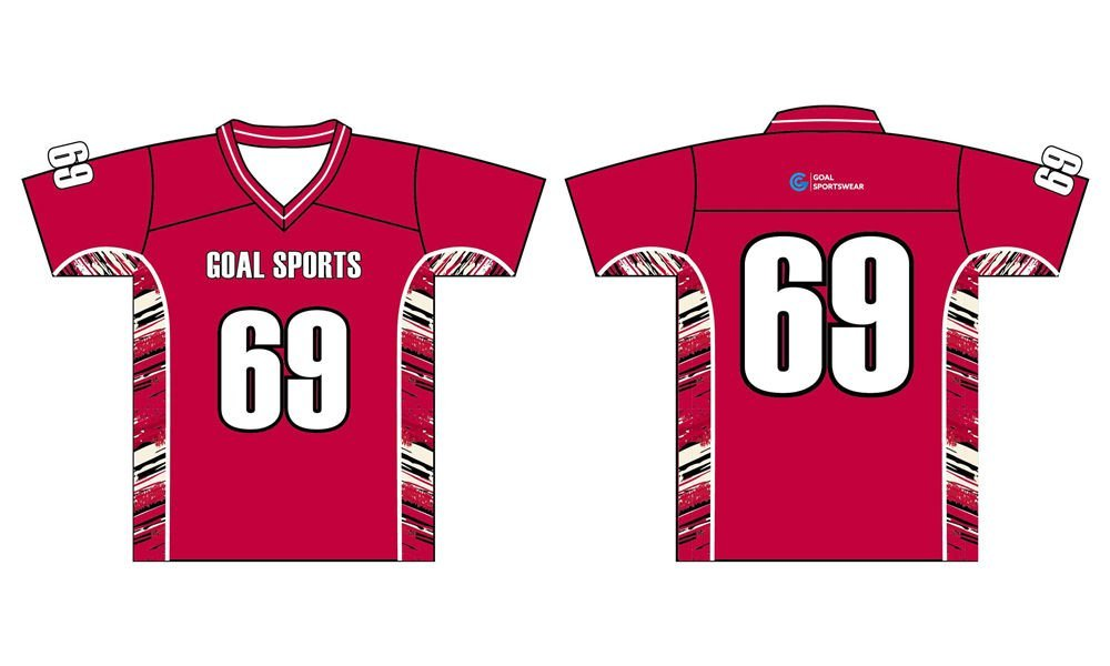 Custom wholesale sublimated printed short sleeve lacrosse jerseys