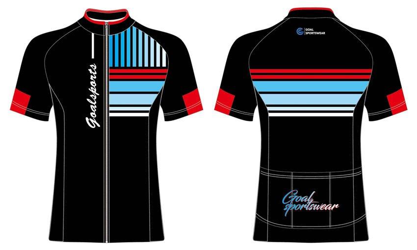 Dye sublimation custom design team short sleeve cycling jerseys